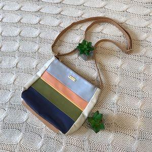 {Relic} Colorblock Crossbody Purse Striped